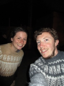 ... bought 'his and hers' llama jumpers